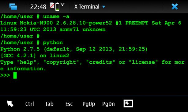 Maemo_5_Python27